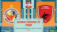 Shopee Liga 1 - Semen Padang FC Vs PSM Makassar (Bola.com/Adreanus Titus)
