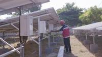 PLN gencar listriki 8 pulau di wilayah Kepulauan Madura  dengan Pembangkit Listrik Tenaga Surya (PLTS). (Foto:Liputan6.com/Dian Kurniawan)