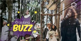 Tetap romantis, 4 seleb ini gelar penikahan di hutan pinus, ada idolamu?