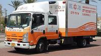 Mobil donor darah di Israel, Magen David Adom. (Dokumentasi Magen David Adom)