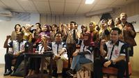 Awak kabin Garuda Indonesia usai bertemu dengan Menteri BUMN (dok: Pebrianto Eko WIcaksono)