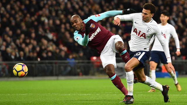 Tottenham Diimbangi West Ham di Wembley Stadium