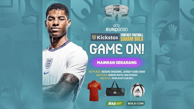 Berita video tutorial untuk main Kickstox Saham Bola Edisi Spesial Euro 2020 biar kamu berpeluang mendapat hadiah saat gelaran Piala Eropa.