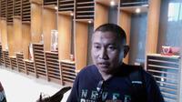 Bambang Suryo saat menghadiri panggilan Komdisi Disiplin (Komdis) PSSI