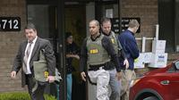 Burhani Medical Clinic, tempat salah satu pelaku bekerja, diperiksa FBI (AP)