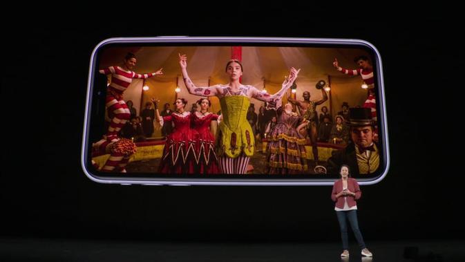 Peluncuran Apple iPhone 11. Kredit: YouTube/Apple