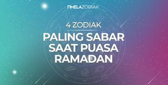 4 Zodiak Paling Sabar Saat Puasa Ramadan