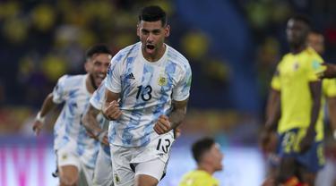 Foto Kualifikasi Piala Dunia: Kurang Memuaskan, Argentina Ditahan Imbang oleh Kolombia pada Kualifikasi Piala Dunia 2022