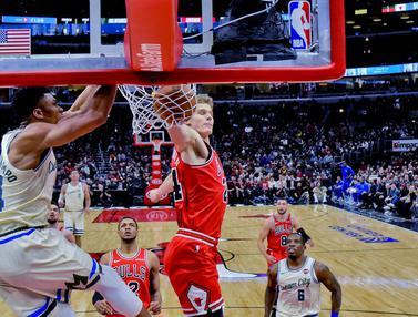 Milwaukee Bucks Taklukkan Chicago Bulls
