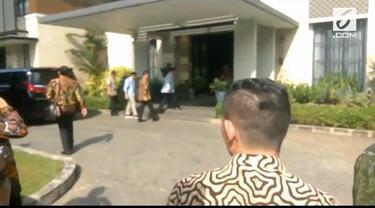 Sebelum pelaksanaan Debat Pilpres Pasangan Capres dan Cawapres Prabowo-Sandi bertemu presiden RI ke-6 Susilo Bambang Yudhoyono