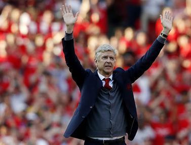 Perpisahan Arsene Wenger dengan Arsenal