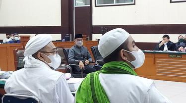 Wali Kota Bogor Bima Arya Sugiarto menjadi saksi dalam persidangan kasus Rizieq Shihab. (Istimewa)