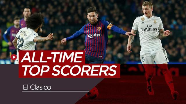 Berita video pencetak gol sepanjang masa di El Clasico