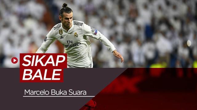 Berita video tentang sikap Gareth Bale selama di ruang ganti yang diungkapkan oleh bek Real Madrid, Marcelo.