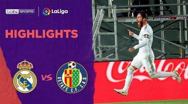 Berita Video Highlights La Liga, Real Madrid Menang Tipis Lawan Getafe 1-0