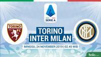 Serie A - Torino Vs Inter Milan (Bola.com/Adreanus Titus)
