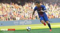 Pro Evolution Soccer 2019. (Doc: Konami)