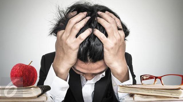 Ilustrasi Stres