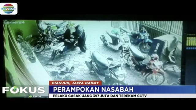 Uang hibah dari Kemendesa untuk Kecamatan Sukaresmi, Jawa Barat, dirampok sebesar Rp 397 juta.