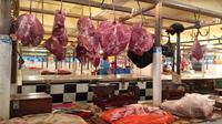 Harga daging sapi pada awal pekan keempat Maret 2018 (Foto: Liputan6.com/Maulandy R)