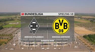 Berita Video Melihat Keseruan Laga Antara Borussia Dortmund Melawan Borussia Monchengladbach di Bundesliga Pekan 18 (23/1/2021)