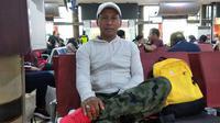 Choirul Huda, mantan asisten pelatih Perseru yang kini jadi asisten pelatih Persis Solo. (Bola.com/Gatot Susetyo)