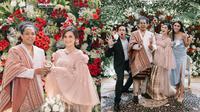 Potret Seleb Hadiri Pernikahan Arie Kriting dan Indah Permatasari. (Sumber: Instagram/arie_kriting/tagged)