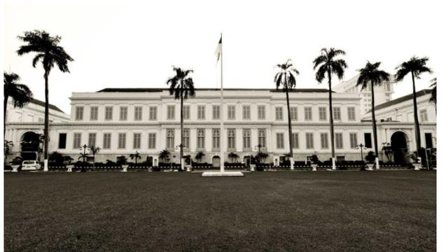 Gedung AA Maramis yang berada di bawah pengelolaan Kementerian Keuangan. (Dok Kemenkeu)
