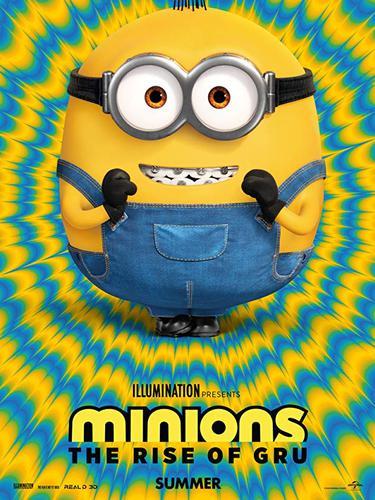 Poster film Minions: The Rise of Gru. (Foto: Dok. IMDb/ Universal)