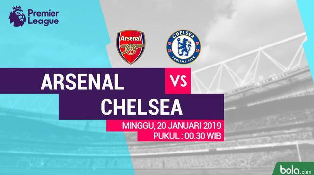 Premier League: Arsenal Vs Chelsea (Bola.com/Adreanus Titus)