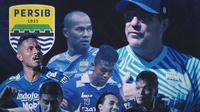 Piala Menpora -  Ilustrasi Perjalanan Persib Bandung Ke Semifinal (Bola.com/Adreanus Titus)