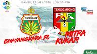 Liga 1 2018 Bhayangkara FC Vs Mitra Kukar (Bola.com/Adreanus Titus)