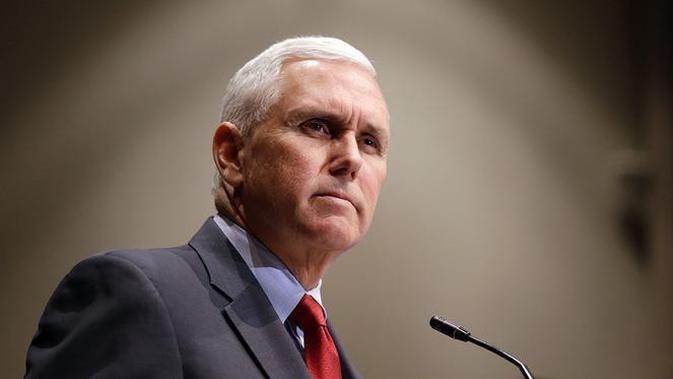 Wakil Presiden AS Mike Pence (AP Photo)