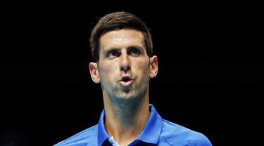 Kekecewaan Petenis Nomor Satu Dunia, Novak Djokovic, Usai Tersingkir dari ATP Finals 2020