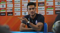 Gelandang Arema FC, Muhammad Rafli, akan menjadi starter dalam laga pekan keenam Shopee Liga 1 2019 kontra Tira Persikabo di Stadion Kanjuruhan, Malang, Sabtu (29/6/2019).