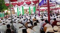 Suasana rateep seuribee di pendopo Bupati Aceh Barat (Liputan6.com/Rino Abonita)