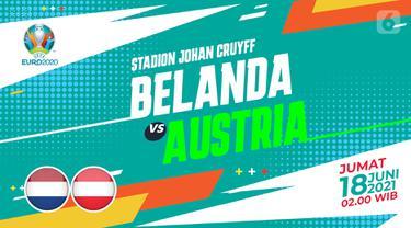 Prediksi Belanda vs Austria