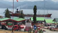 Pertamina hingga Jumat (5/10/2018) ini terus mengirimkan 4 tanker pengangkut Bahan Bakar Minyak (BBM) sebanyak 11,2 juta liter via jalur laut menuju Donggala, Sulawesi Tengah. (Dok Pertamina)