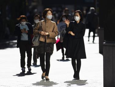 FOTO: Tokyo Konfirmasi Penambahan Kasus Baru COVID-19