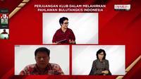 """Dalam rangka memperingati Hari Pahlawan, PB Djarum dan PB Jaya Raya menggelar bincang media virtual bertajuk """"Perjuangan Klub dalam Melahirkan Pahlawan Bulutangkis Indonesia"""", pada Kamis (12/11). (Istimewa)"""