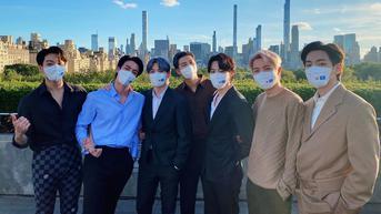 BTS Sambangi The Met di New York City, Serahkan Karya Seni dari Pemerintah Korea Selatan