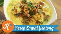 Resep praktis empal gentong (Foto: Kokiku Tv)