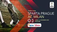 Sparta Prague vs AC Milan (Liputan6.com/Abdillah)