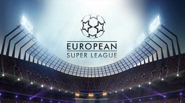 Banner Infografis European Super League, Layu Sebelum Berkembang? (Liputan6.com/Trieyasni)