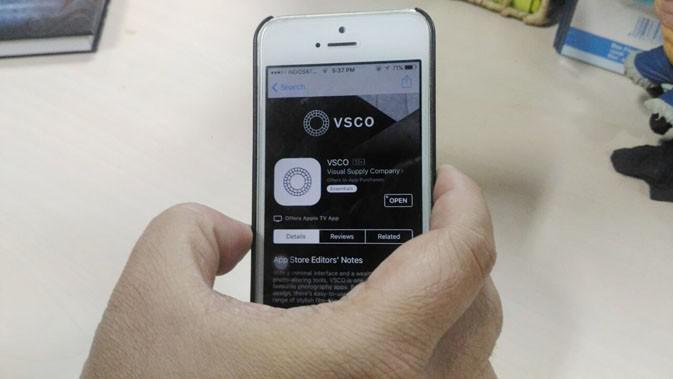 VSCO Cam (Liputan6.com/Agustinus Mario Damar)