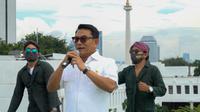 Kepala Staf Presiden Dr. Moeldoko saat pengambilan gambar video lagu Ra Mudik Ra Popo (Foto: Istimewa)