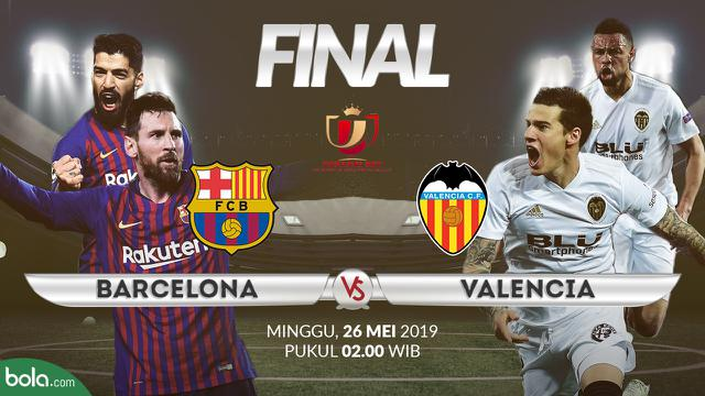 Prediksi Copa del Rey Barcelona Vs Valencia: Kultus Dominasi 4 Tahun – Spanyol Agenbola