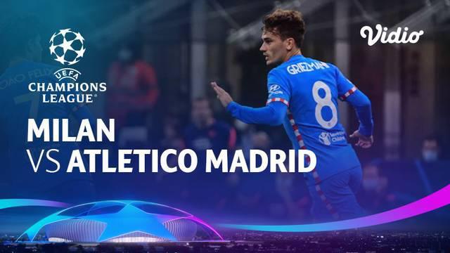 Berita video highlights Liga Champions, Atletico Madrid menang 2-1 atas AC Milan. Luis Suarez  dan Antoine Griezmann jadi penentu kemenangan, Rabu (29/9/21)