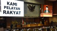 Ketua DPR RI Bambang Soesatyo mengarakan bahwa DPR akan menerima dengan lapang dada terkait putusan MK atas UU MD3.