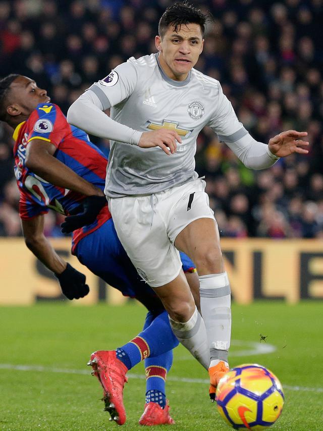 Dramatis, Manchester United Menang Tipis di Kandang Crystal Palace